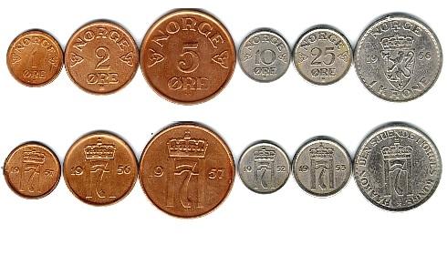 Монеты Новергии с ценами