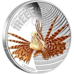 Австралийская монета Рыба-Лев (Lionfish)