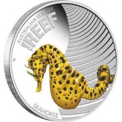 Австралийская монета Морской конек (Seahorse)