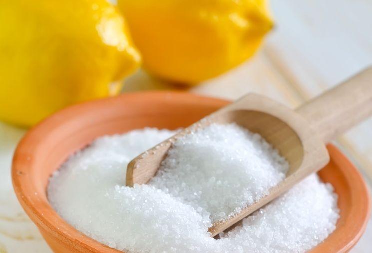 Очистка монет лимонной кислотой