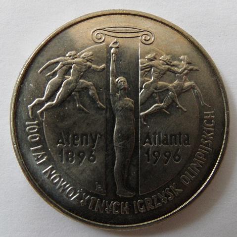 Юбилейная монета Польши посвящена Олимпийским играм 1986-1996