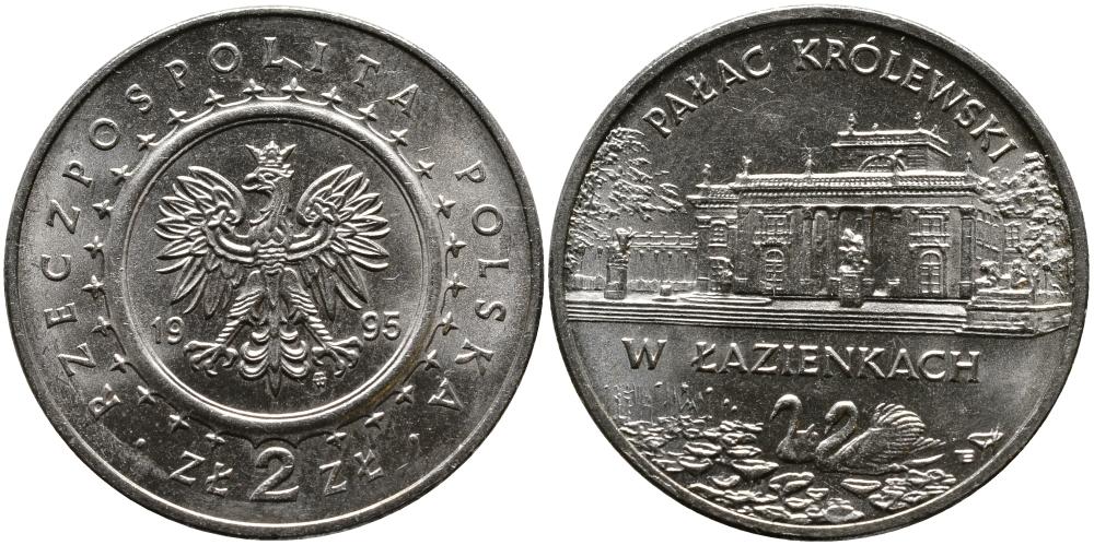 Юбилейная монета Польши посвящена архитектуре