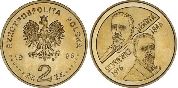Юбилейная монета Польши посвящена в честь Генрику Сенкевичу