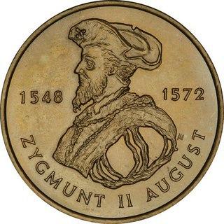 Юбилейная монета Польши посвящена в честь короля Сигизмунда II Августа