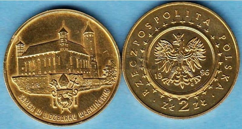 Юбилейная монета Польши посвящена замку польских королей