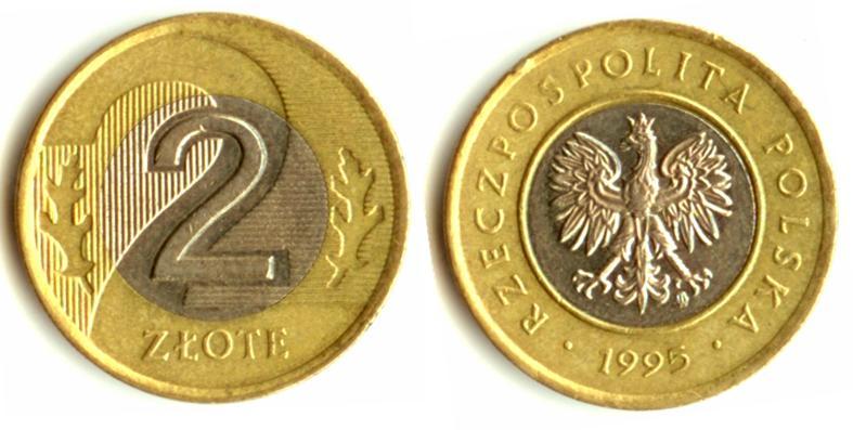 Юбилейная монета Польши - 2 злотых