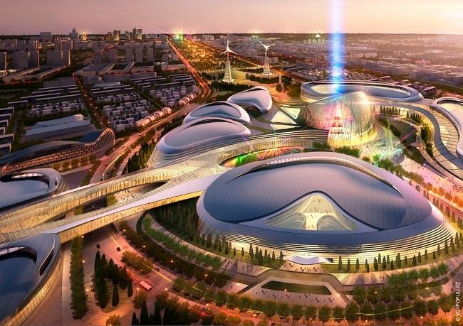 Выставка конкурсных эскизных проектов EXPO-2017