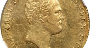 Монета 25 злотых 1819 года Александра I для Польши - аверс