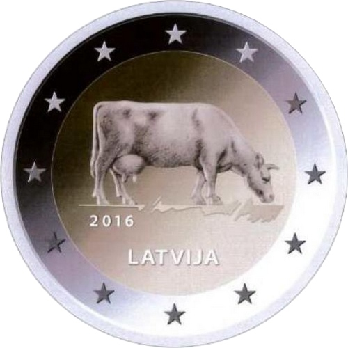 Сельское хозяйство Латвии (Корова)