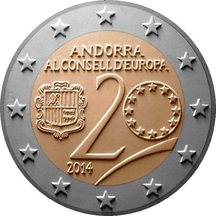 20-летие вступления Андорры в Совет Европы