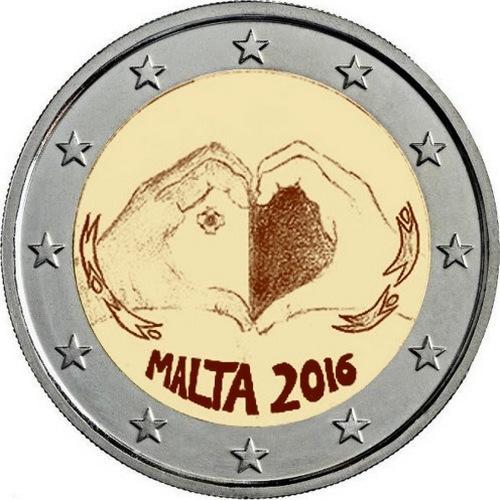 1-я монета серии «Дети и солидарность»: «Любовь»