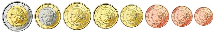 Бельгии образца 2008 года