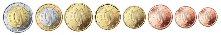 Монеты евро Исландия