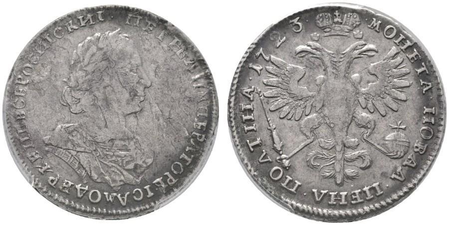 Полтина 1723 года