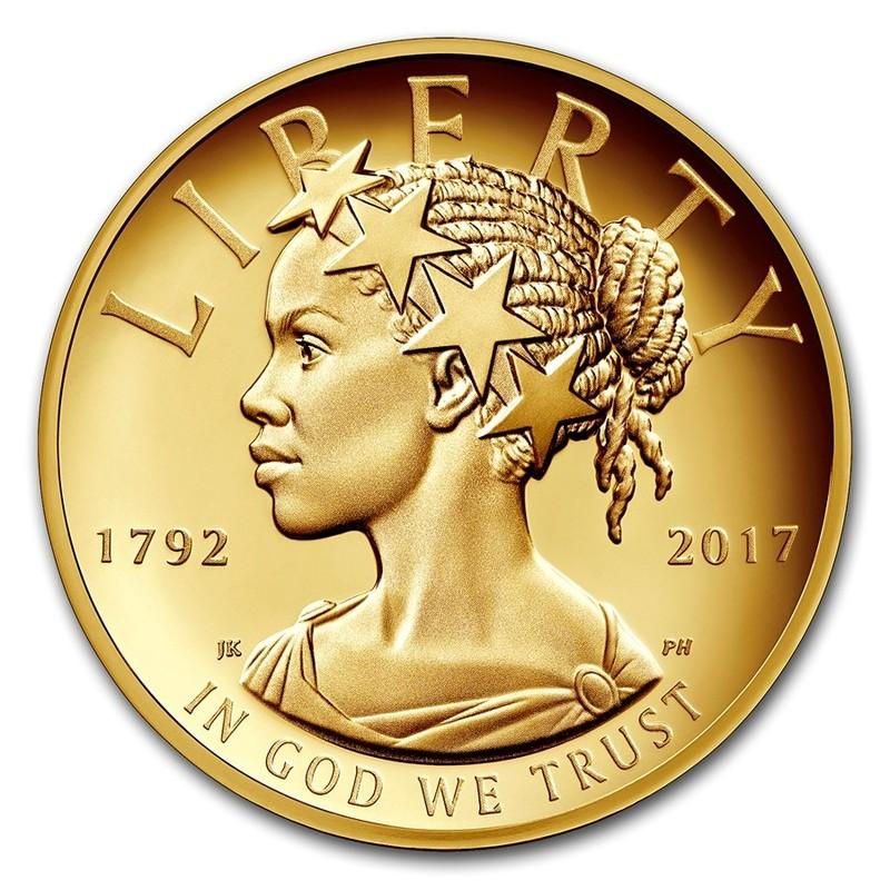 Золотая монета США «Юбилейная Американская Свобода» 2017 г.в.