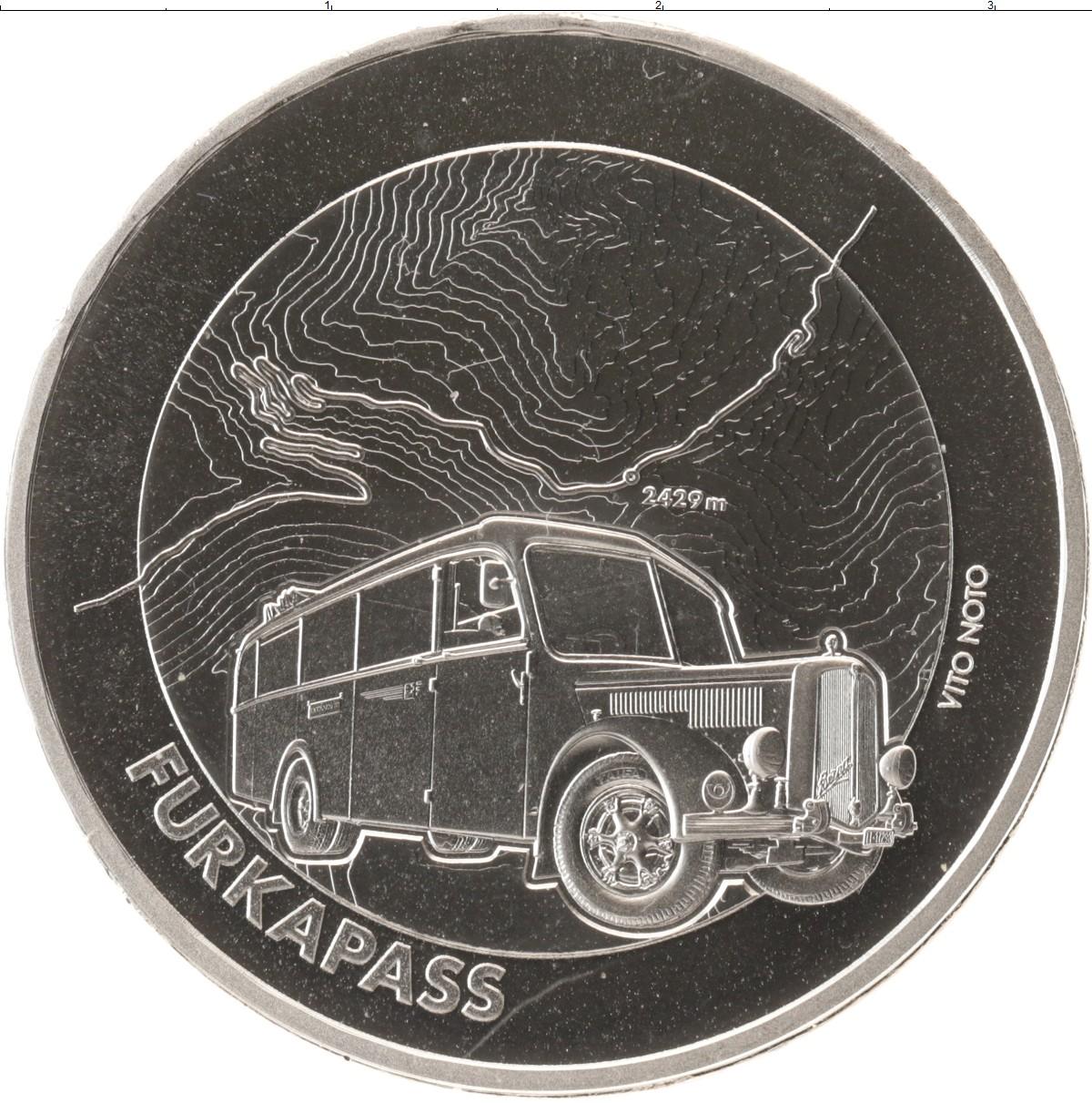 Монета Швейцария 20 франков Серебро 2019