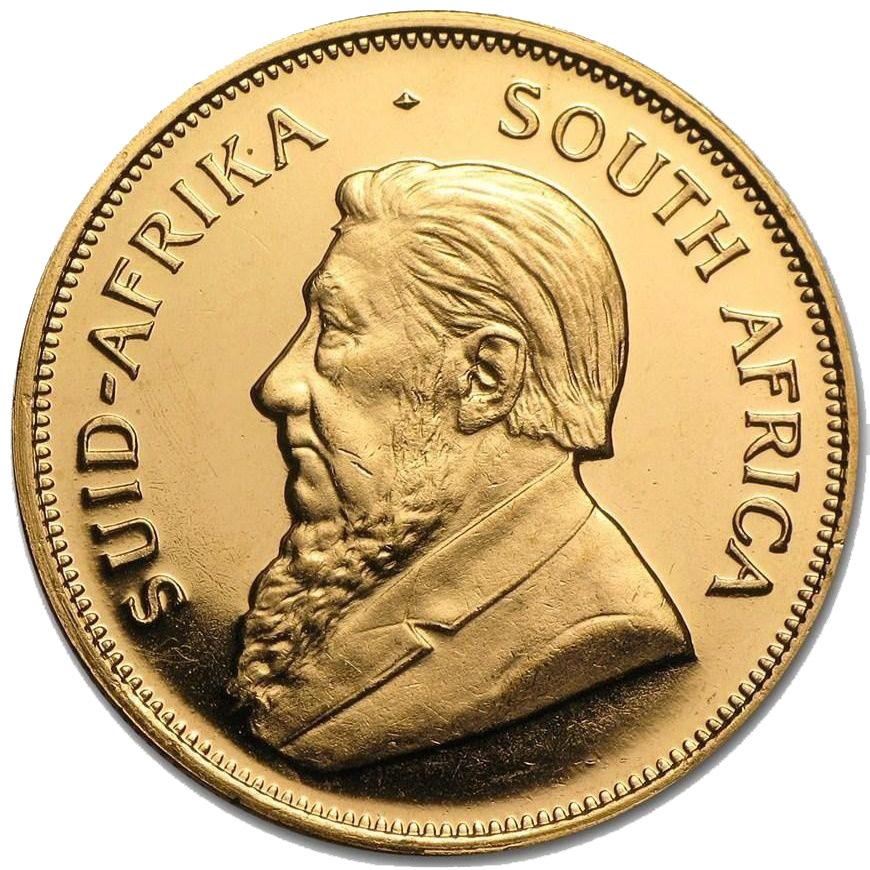 Монета крюгерранд 1978года - ЮАР