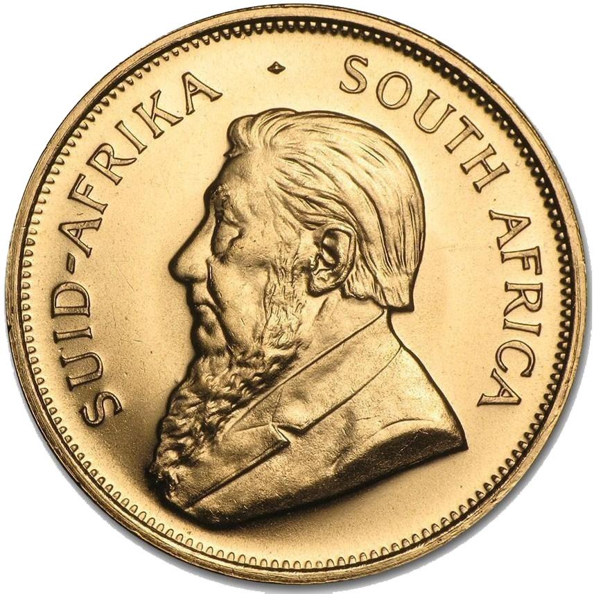 Монета крюгерранд 1980 года - ЮАР