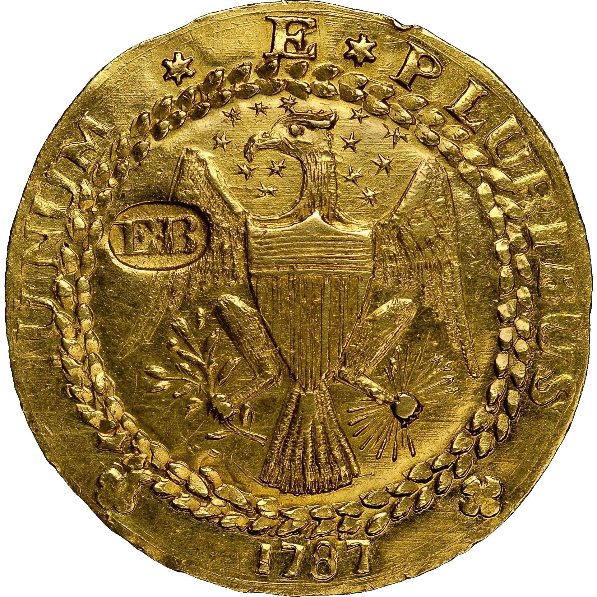 Золотой Дублон Брашера - 1787 года